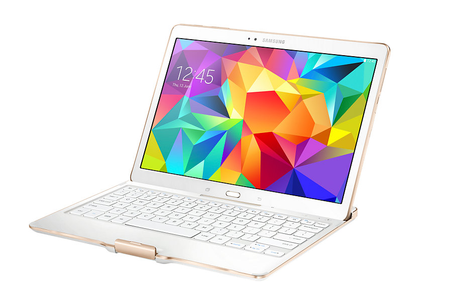 Tab S Book Cover Dazzling White : Galaxy tab s inch bluetooth keyboard cover dazzling
