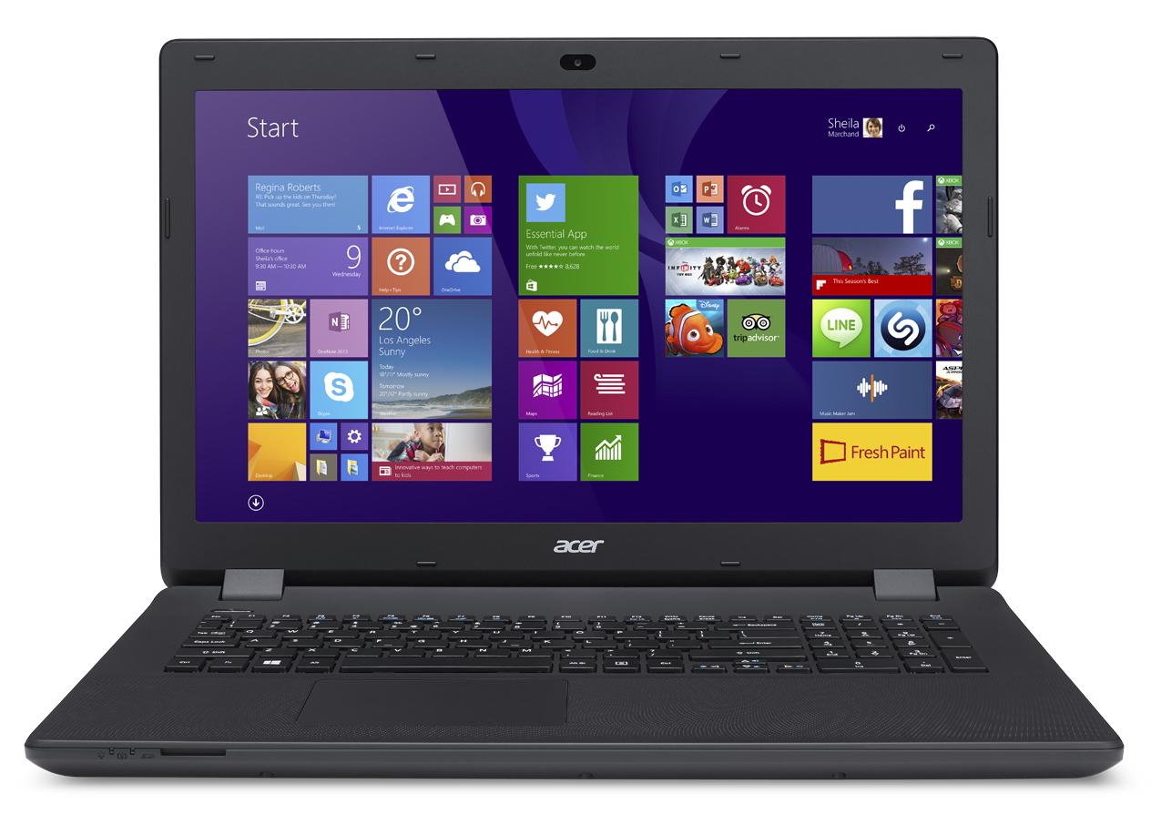 Лаптоп Acer Aspire ES1-732-P2L4, NX.GH5EX.002