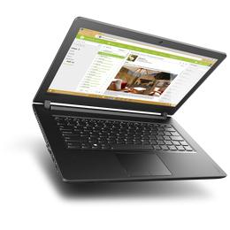Лаптоп Lenovo IdeaPad 110, 80T700EDBM