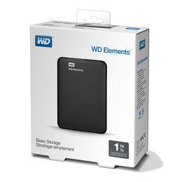 Външен твърд диск Western Digital Elements 1TB USB 3.0 Black